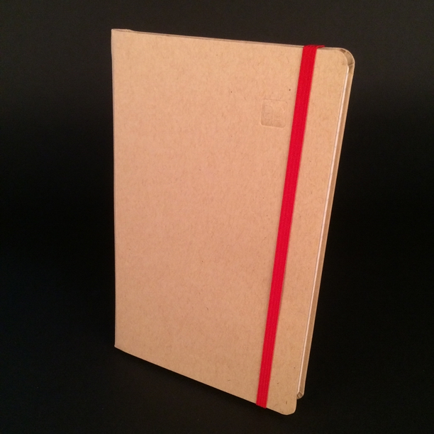 hardcover books and notebooks